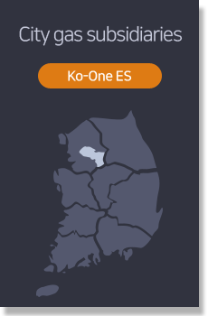 City gas subsidiaries - Ko-One ES