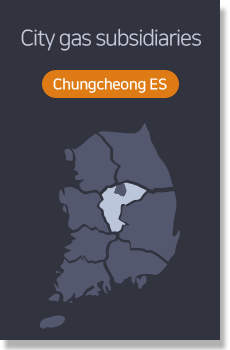 City gas subsidiaries - Chungcheong ES