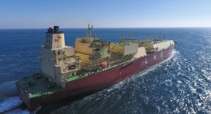 SK E&S Set to Launch Korea's First Private-Sector LNG carrier to Transport Shale Gas